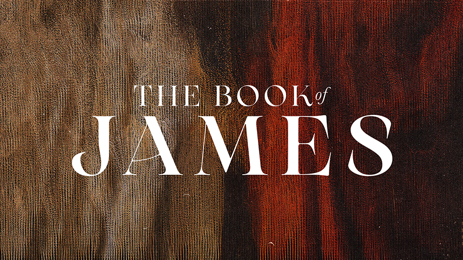 The Book of James Sermon Series Graphic