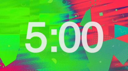 Bright Background Countdown Video