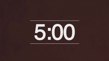 Brown Background Countdown Video