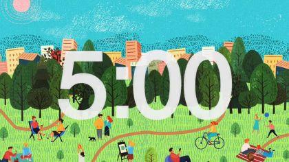 Cartoon Background Countdown Video