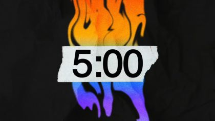 Grungy Countdown Video