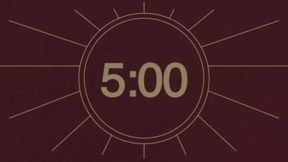 Maroon Countdown Video