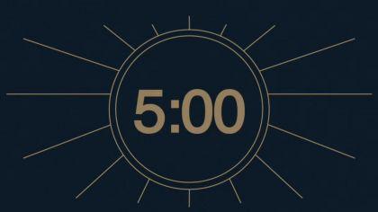 Navy Blue Countdown Video