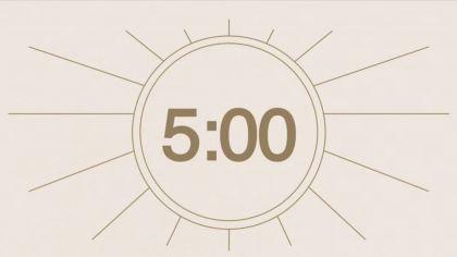 Neutral Countdown Video