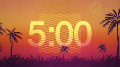 Summer Sunset Countdown Video