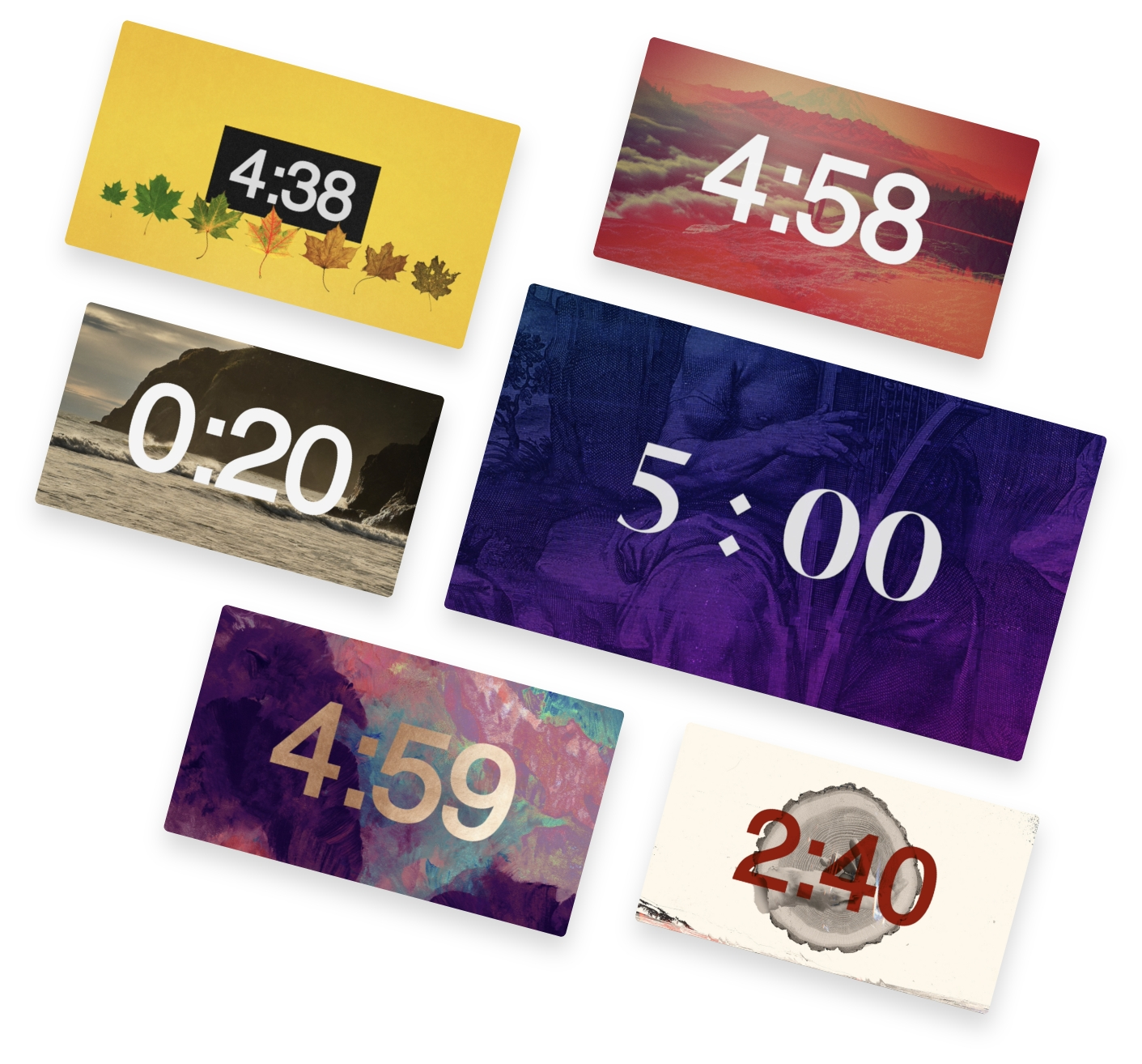 5 Minute Countdowns with Ministry Pass