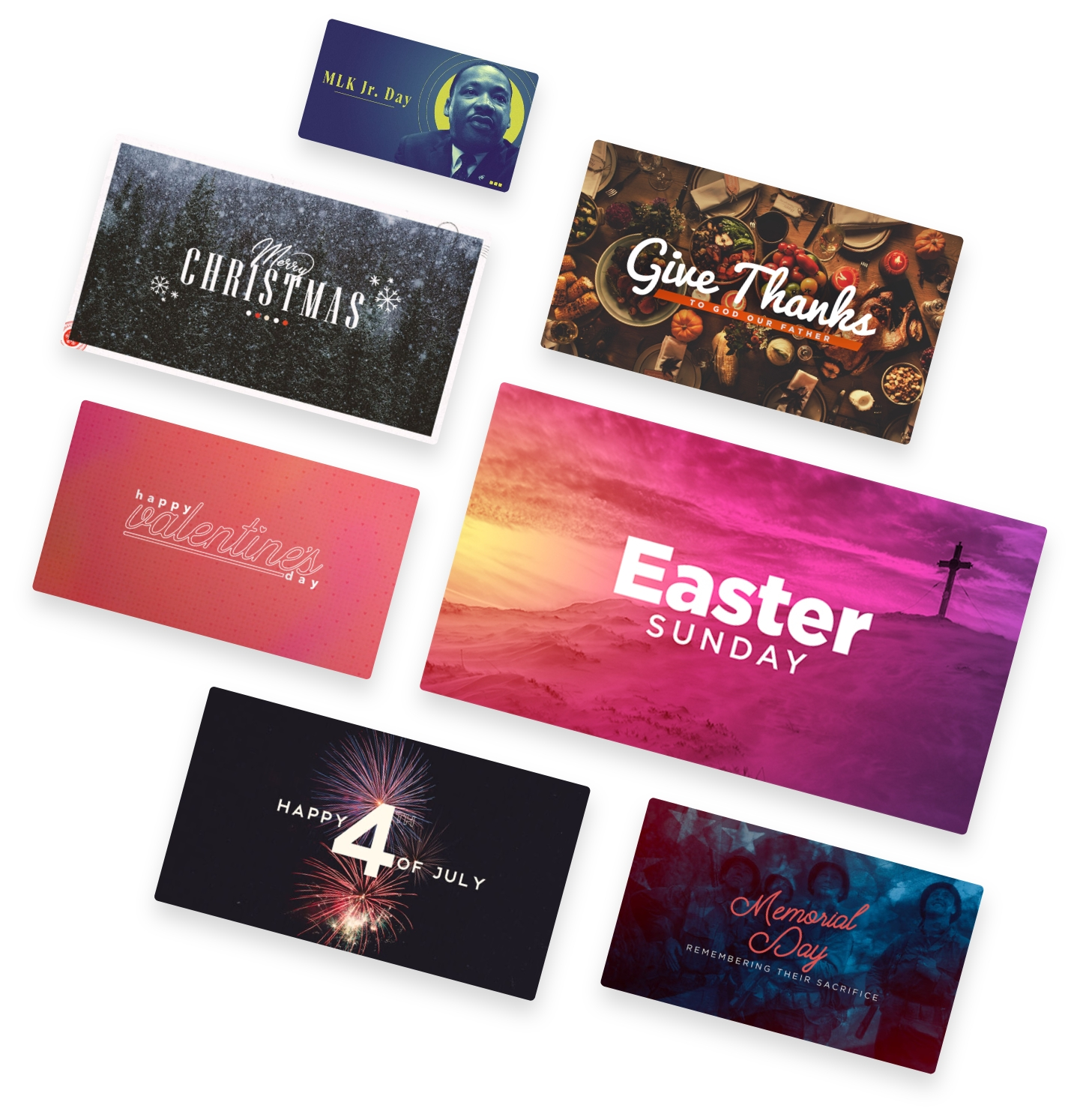 Holiday Graphics from Ministry Pass