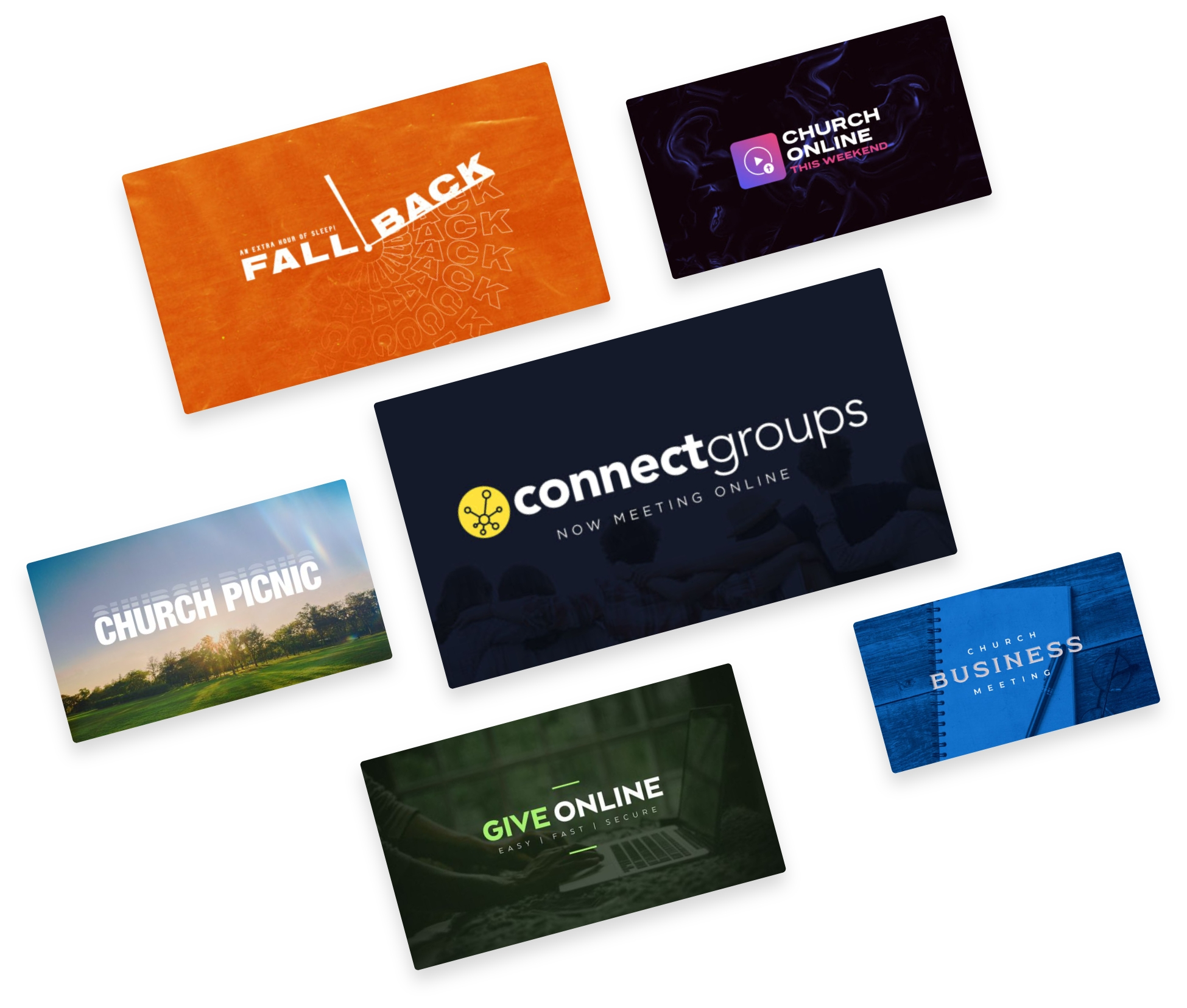 Service Graphics Library from Ministry Pass